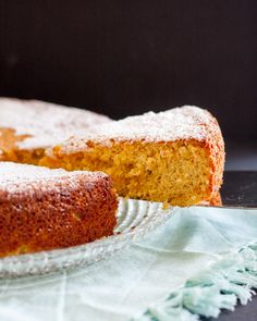The Tarta de Santiago (Saint James Cake) is a classic Spanish dessert. This gluten free almond cake recipe is simple to follow and makes a delightful dessert or tea cake. * GoodieGodmother.com