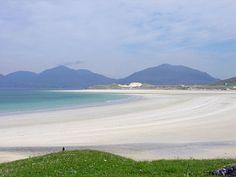 Luskentyre beach, island of Harris