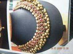 imitation tamilian style necklace sets - Google Search