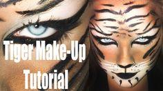 SIMPLE KARNEVAL / HALLOWEEN TIGER MAKE-UP TUTORIAL * HD * DEUTSCH