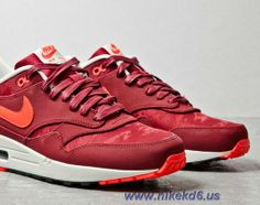 Nike Air Max 1 Prm Team Red Atomic Red Jaquard Outlet