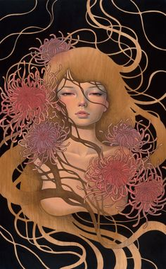 L.A.'s Thinkspace Gallery recently traveled across the Atlantic to debut new paintings by Audrey Kawasaki (HF Vol. 25 cover artist) and Esao Andrews (featured in HF Vol. 22) for the annual Sc…