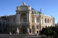 Opera. Odessa city, Ukraine
