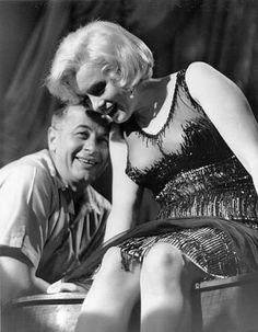 Billy Wilder and Marilyn on Some Like It Hot set