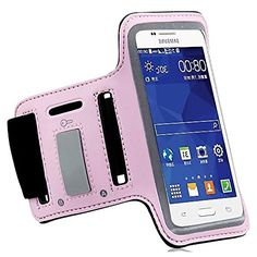 """myLife Coral Pink, Black and Gray {Rain Resistant Velcro Secure Running Armband} Dual-Fit with Key Slot Jogging Arm Strap Holder for Samsung Galaxy S5 """"All Ports Accessible"""" myLife Brand Products http://www.amazon.com/dp/B00SLUJFDO/ref=cm_sw_r_pi_dp_vtG-ub1VJXKS2"""