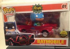 Funko POP Rides Toy Tokyo Exclusive Batman Red Batmobile Vinyl LE300 Rare in Collectibles, Pinbacks, Bobbles, Lunchboxes, Bobbleheads, Nodders | eBay