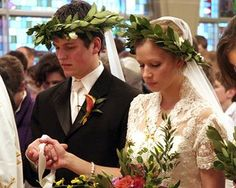"""In traditional Russian weddings, the bride and groom are """"crowned."""" That is why marriage ceremonies in Russia are sometimes referred to as Crownings."""