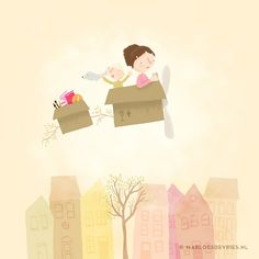 Moving house by Marloes De Vries