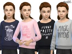 The Sims Resource: Long Sleeved Sweaters V3 by OranosTR • Sims 4 Downloads