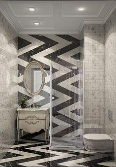 Ванная конмната. Квартира в ЖК «Смольный Парк», 103 кв.м.