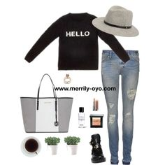 """CASUAL"" by merrily-shop on Polyvore"
