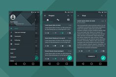 Android Material Design APP Concept by higorsm25