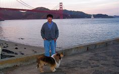 Peter & Azulita At Crissy Field In San Francisco