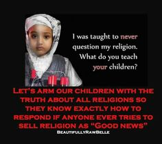 Religion is preying on children ...