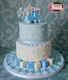 christening cakes for boys - Google Search