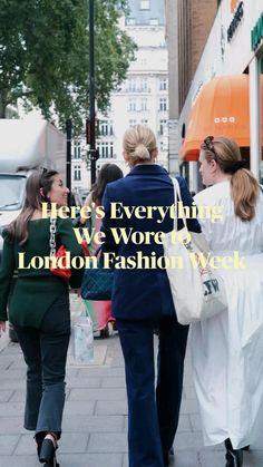 Runway Fashion, Fashion Outfits, Fasion, Womens Fashion, We Wear, How To Wear, New Wardrobe, British Style, Street Style Women