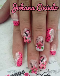 28 Ideas For Nails Spring Natural Art Designs Fabulous Nails, Perfect Nails, Gorgeous Nails, Pretty Nails, Diy Nail Designs, Flower Nail Art, Stylish Nails, Beautiful Nail Art, Nail Art Galleries