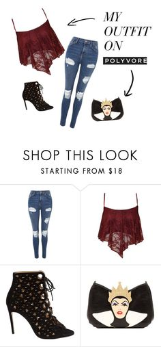 """""""What Am I Doing With My Life?"""" by supernerdgirl300 on Polyvore featuring Topshop, Bionda Castana and Danielle Nicole"""
