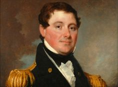 William Branford Shubrick, a hereditary member of the South Carolina Society, served in the War of 1812 and Mexican War and is shown in this portrait wearing a Society Eagle on his naval uniform.