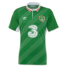 Ireland 16/17 Home Soccer Jersey