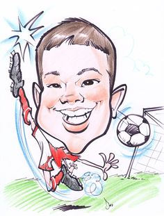 CUSTOM CARICATURES FOR PURCHASE DRAWN FROM PHOTOS AT: WWW.KAMANSART.COM