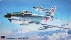 F-86D Sabre Dog, Hasegawa 51404 (1996)