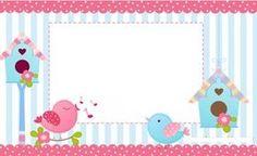 New Baby Shower Invitaciones Buhos Ideas Printable Labels, Printable Paper, Printables, Diy And Crafts, Paper Crafts, Bird Party, Borders And Frames, Ideas Para Fiestas, Clipart