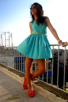#acquamarine dress #spring