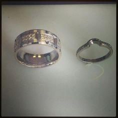 Mens and ladies wedding bandss