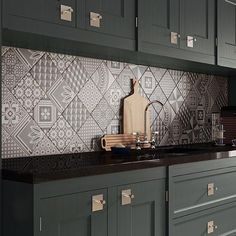 decorative tiles for kitchen decorative tile kitchen epic tile concept on small home decoration idea Kitchen Wall Tiles, Wall And Floor Tiles, Kitchen Flooring, Bathroom Wall, Kitchen Sink, Kitchen Interior, Kitchen Decor, Decorative Tile, Tile Design