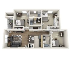 My apartment layout!