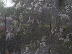 From the wall at the Korean War Memorial, Washington, DC.