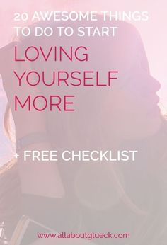 One of the most important pillars of my coaching is self love. To help you get started with loving yourself, I've made you a checklist with 20 awesome things to do Reiki, Love Tips, Happiness, Self Care Routine, Negative Thoughts, Self Confidence, Confidence Building, Love You More, Self Development
