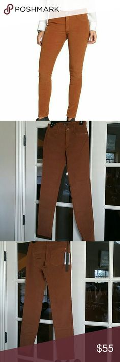 James Jeans Corduroy Pants Color-saturated corduroy skinny pants hug every curve just right for a flattering, leg-lengthening fit. Color: Cognac Corduroy Pants Skinny