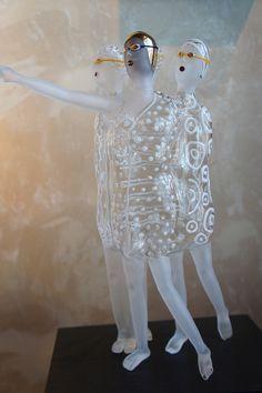 Karen Buhler --Thomas R. Riley Galleries by Objetos con vidrio, via Flickr
