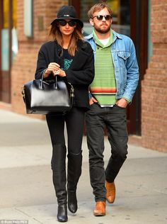 Quite the guest list: Also spotted leaving the Trump Soho Hotel on Tuesday were Lily Aldridge and her husband Caleb Followill