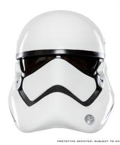 Star Wars The Force Awakens: First Order Stormtrooper Helmet