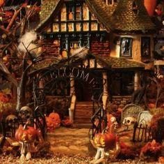 Dept 56 Halloween Villages and Accessories.