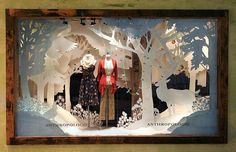 anthropologie window displays | Anthropologie Store Windows - Holiday 2012…