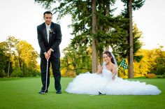 If doing a wedding at golf course this is a great photo option. Looking forward to the Before I Do Bridal Show on the Links  #beforeido