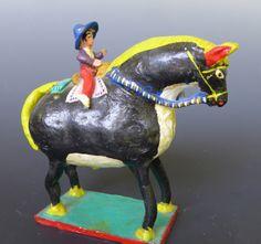 Horse with tiny rider!