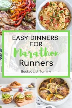 These easy recipes for marathon training will help boost your recovery and ensure you're eating a varied, nutritious array of easy meals to boost performance. Nutrition For Runners, Nutrition Tips, Sports Nutrition, Fun Easy Recipes, Easy Meals, Healthy Recipes, Light Recipes, Popular Recipes, Delicious Recipes