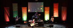 Patterns in the Yarn | Church Stage Design Ideas - yarn on frame designs