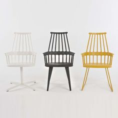 Comback Chair, Sled Base & Kartell Comback Chairs | YLighting