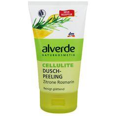 -in USA- Alverde Natural Cosmetics : Anti-Cellulite in-shower body scrub -150ml