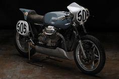 Moto Guzzi Le Mans Mark I by Revival Cycles