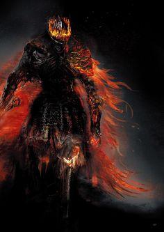 Crown of the Soul of Cinder Fantasy Armor, Dark Fantasy Art, Medieval Fantasy, Dark Art, Dark Souls 3, Arte Dark Souls, Fantasy Character Design, Character Art, Soul Saga