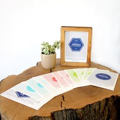 """The 2015 Mindful Living Calendar, fits perfectly into our 5""""x7"""" Reclaim Frame!"""