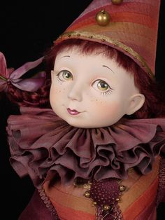 Princess+art+dolls | doll name circus princess artist tamara pivnyuk height 69 см ...