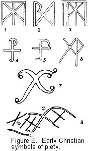 Ancient Christian Symbols | Fig. E Early Christian symbols of piety